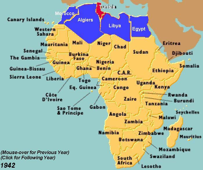 Map of africa during ww2 my blog history gumiabroncs Image collections